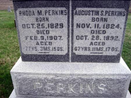 PERKINS, AUGUSTIN - Van Buren County, Iowa | AUGUSTIN PERKINS