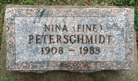 PETERSCHMIDT, NINA - Van Buren County, Iowa | NINA PETERSCHMIDT