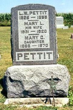 PETTIT, MARY L. - Van Buren County, Iowa | MARY L. PETTIT
