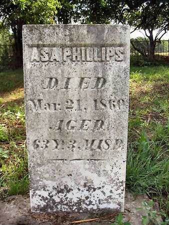 PHILLIPS, ASA - Van Buren County, Iowa | ASA PHILLIPS