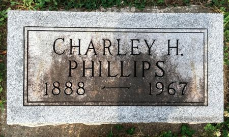 PHILLIPS, CHARLEY H - Van Buren County, Iowa | CHARLEY H PHILLIPS