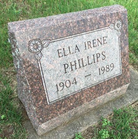 PHILLIPS, ELLA IRENE - Van Buren County, Iowa | ELLA IRENE PHILLIPS