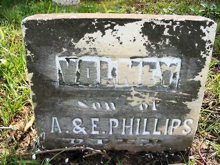 PHILLIPS, VOLNEY - Van Buren County, Iowa | VOLNEY PHILLIPS