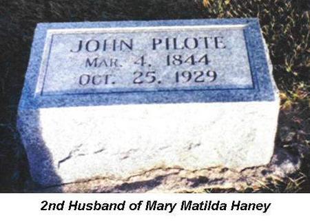 PILOTE, JOHN - Van Buren County, Iowa | JOHN PILOTE