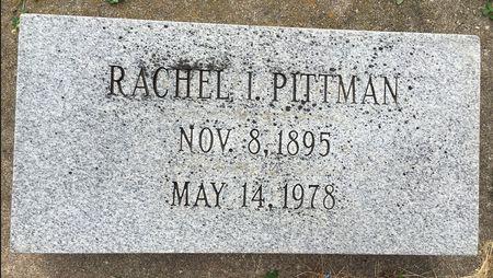 PITTMAN, RACHEL I - Van Buren County, Iowa | RACHEL I PITTMAN