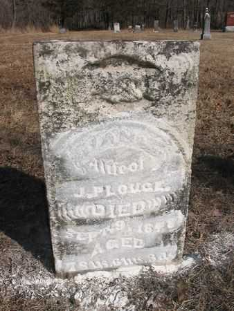 CALDWELL PLOUGHE, JANE - Van Buren County, Iowa | JANE CALDWELL PLOUGHE