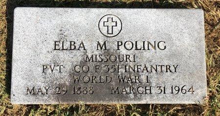POLING, ELBA M - Van Buren County, Iowa | ELBA M POLING