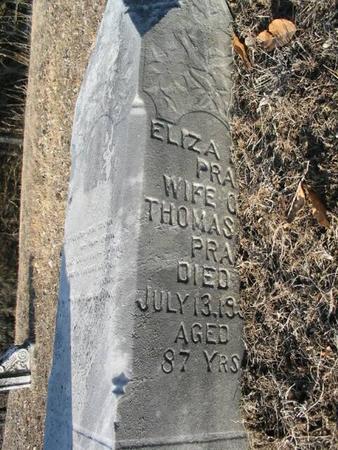 PRALL, ELIZA - Van Buren County, Iowa | ELIZA PRALL