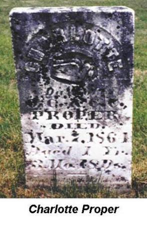 PROPER, CHARLOTTE - Van Buren County, Iowa | CHARLOTTE PROPER
