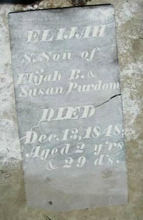PURDOM, ELIJAH S. - Van Buren County, Iowa | ELIJAH S. PURDOM