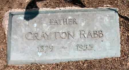 RABB, CRAYTON - Van Buren County, Iowa   CRAYTON RABB