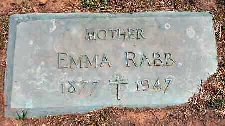SCHAFFER RABB, EMMA - Van Buren County, Iowa | EMMA SCHAFFER RABB