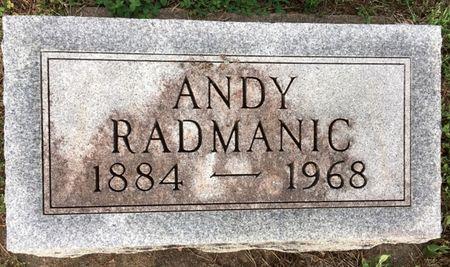 RADMANIC, ANDY - Van Buren County, Iowa | ANDY RADMANIC