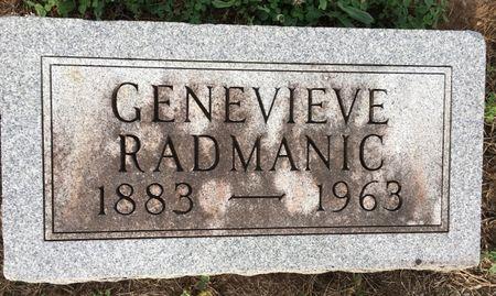 LUECKEL RADMANIC, GENEVIEVE - Van Buren County, Iowa | GENEVIEVE LUECKEL RADMANIC