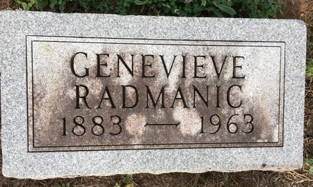 RADMANIC, GENEVIEVE - Van Buren County, Iowa | GENEVIEVE RADMANIC