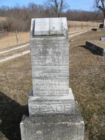 READE, SUSAN - Van Buren County, Iowa | SUSAN READE