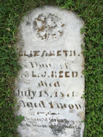 REED, ELIZABETH - Van Buren County, Iowa | ELIZABETH REED