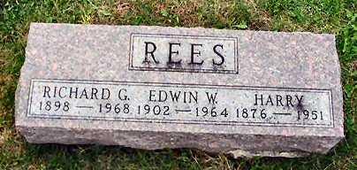 REES, RICHARD G. - Van Buren County, Iowa | RICHARD G. REES