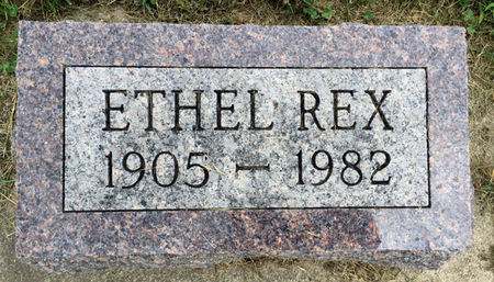 HUNTER REX, ETHEL - Van Buren County, Iowa | ETHEL HUNTER REX