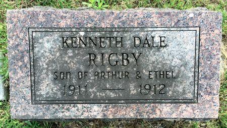 RIGBY, KENNETH DALE - Van Buren County, Iowa | KENNETH DALE RIGBY