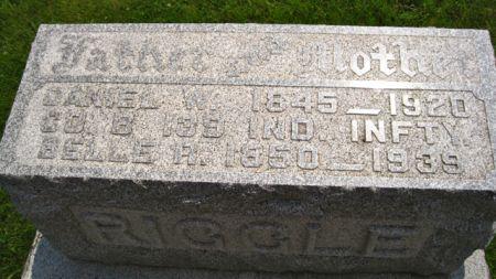 RIGGLE, DANIEL W. - Van Buren County, Iowa   DANIEL W. RIGGLE