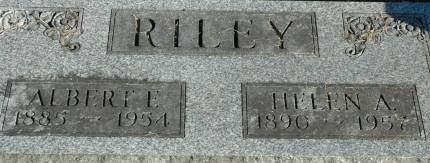 RILEY, ALBERT E - Van Buren County, Iowa   ALBERT E RILEY