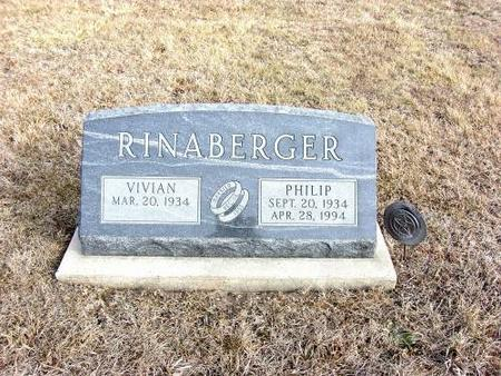RINABERGER, PHILLIP - Van Buren County, Iowa | PHILLIP RINABERGER