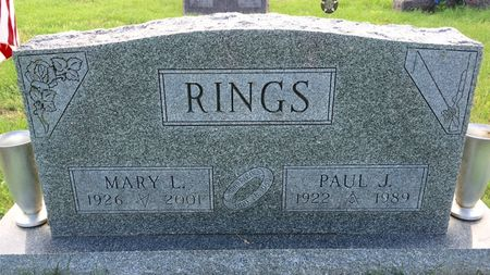 RINGS, MARY L - Van Buren County, Iowa | MARY L RINGS