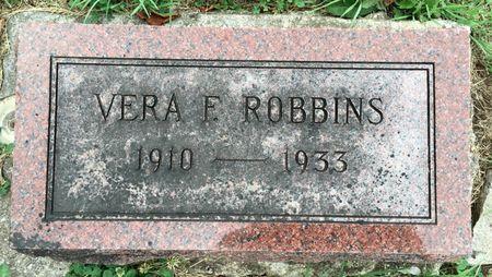 SCHMIDT ROBBINS, VERA F - Van Buren County, Iowa | VERA F SCHMIDT ROBBINS
