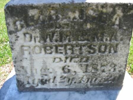 ROBERTSON, CLARENCE A. - Van Buren County, Iowa   CLARENCE A. ROBERTSON