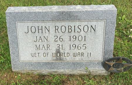 ROBISON, JOHN - Van Buren County, Iowa | JOHN ROBISON