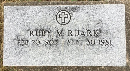 PURVIS RUARK, RUBY M - Van Buren County, Iowa | RUBY M PURVIS RUARK