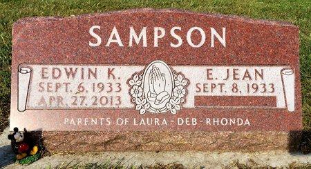 SAMPSON, EDWIN K - Van Buren County, Iowa | EDWIN K SAMPSON