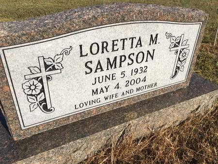 SAMPSON, LORETTA M - Van Buren County, Iowa | LORETTA M SAMPSON