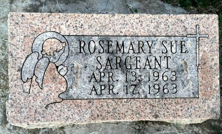 SARGEANT, ROSEMARY SUE - Van Buren County, Iowa | ROSEMARY SUE SARGEANT