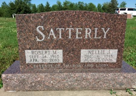 SATTERLY, ROBERT M - Van Buren County, Iowa | ROBERT M SATTERLY