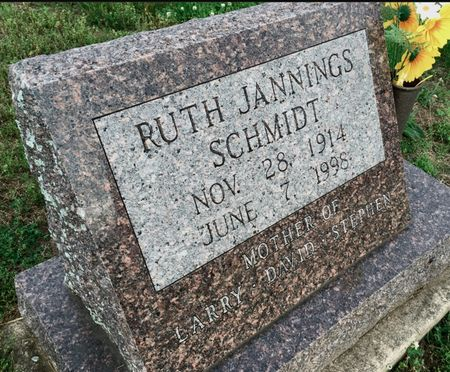 MUNFORD SCHMIDT, RUTH JANNINGS - Van Buren County, Iowa | RUTH JANNINGS MUNFORD SCHMIDT
