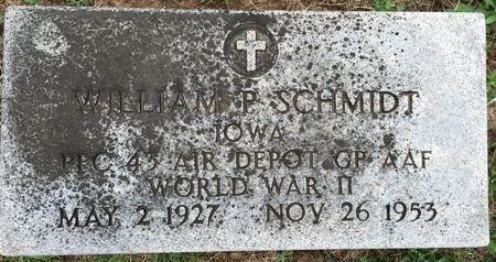 SCHMIDT, WILLIAM P - Van Buren County, Iowa | WILLIAM P SCHMIDT