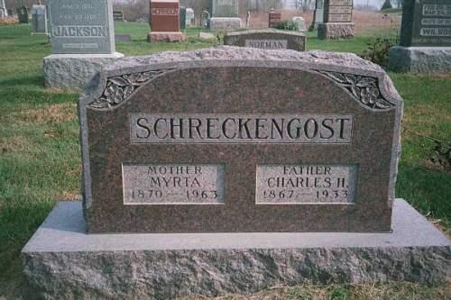 SCHRECKENGOST, CHARLES HENRY - Van Buren County, Iowa | CHARLES HENRY SCHRECKENGOST