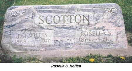 SCOTTON, ELI WILLIS, ROSELLA S. - Van Buren County, Iowa | ELI WILLIS, ROSELLA S. SCOTTON
