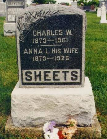 SHEETS, CHARLES AND ANNA - Van Buren County, Iowa | CHARLES AND ANNA SHEETS