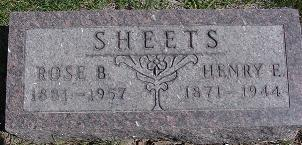 SHEETS, ROSABEL - Van Buren County, Iowa | ROSABEL SHEETS