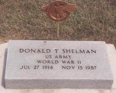SHELMAN, DONALD T. - Van Buren County, Iowa | DONALD T. SHELMAN