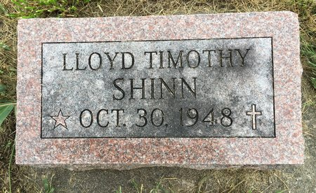 SHINN, LLOYD TIMOTHY - Van Buren County, Iowa | LLOYD TIMOTHY SHINN