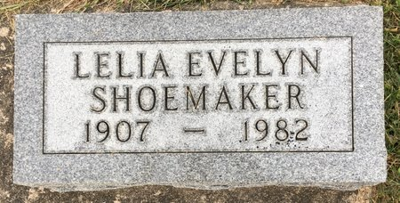 SHOEMAKER, LELIA EVELYN - Van Buren County, Iowa | LELIA EVELYN SHOEMAKER