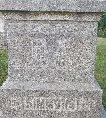 SIMMONS, DAVID - Van Buren County, Iowa | DAVID SIMMONS