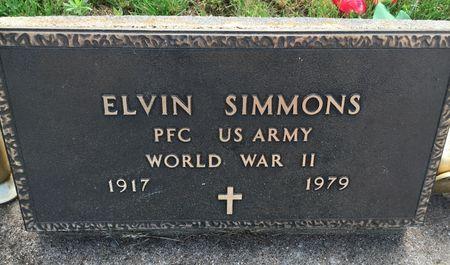 SIMMONS, ELVIN - Van Buren County, Iowa | ELVIN SIMMONS