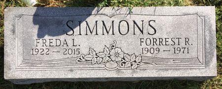 FETTERS SIMMONS, FREDA L - Van Buren County, Iowa | FREDA L FETTERS SIMMONS