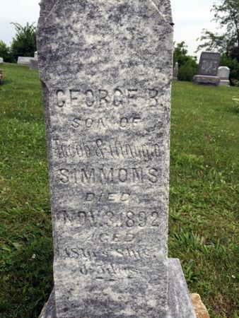 SIMMONS, GEORGE B. - Van Buren County, Iowa | GEORGE B. SIMMONS