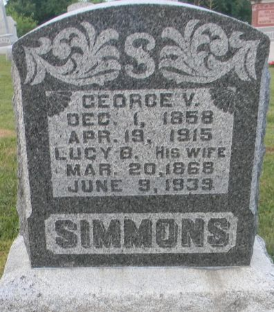 EASTMAN SIMMONS, LUCY B. - Van Buren County, Iowa | LUCY B. EASTMAN SIMMONS